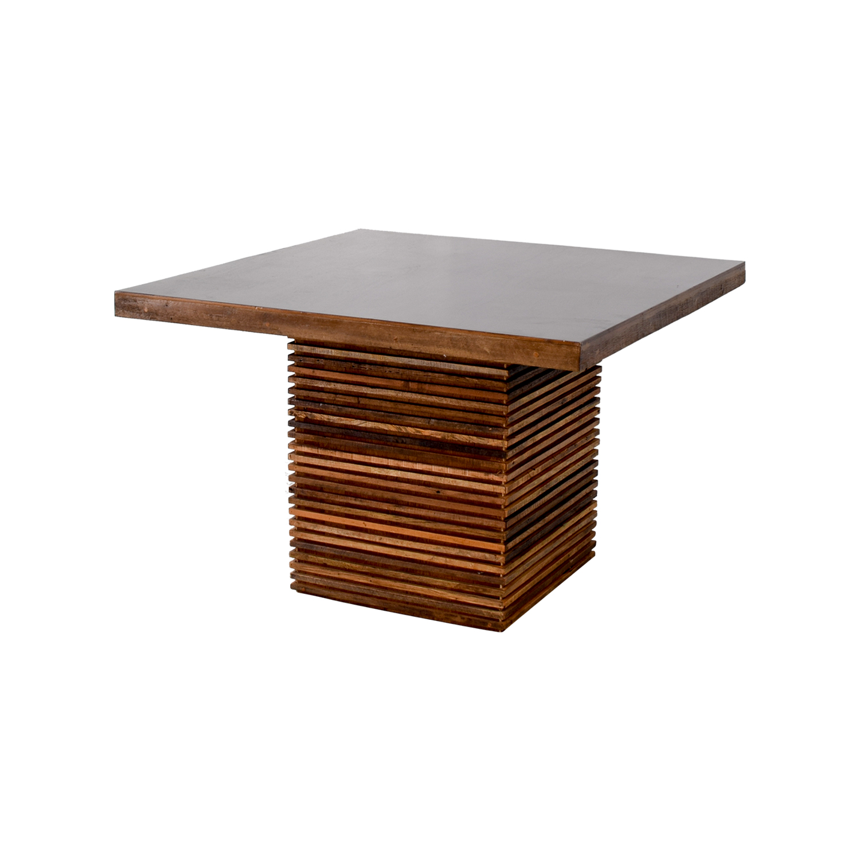 88 off crate barrel crate barrel paloma dining table tables. Black Bedroom Furniture Sets. Home Design Ideas