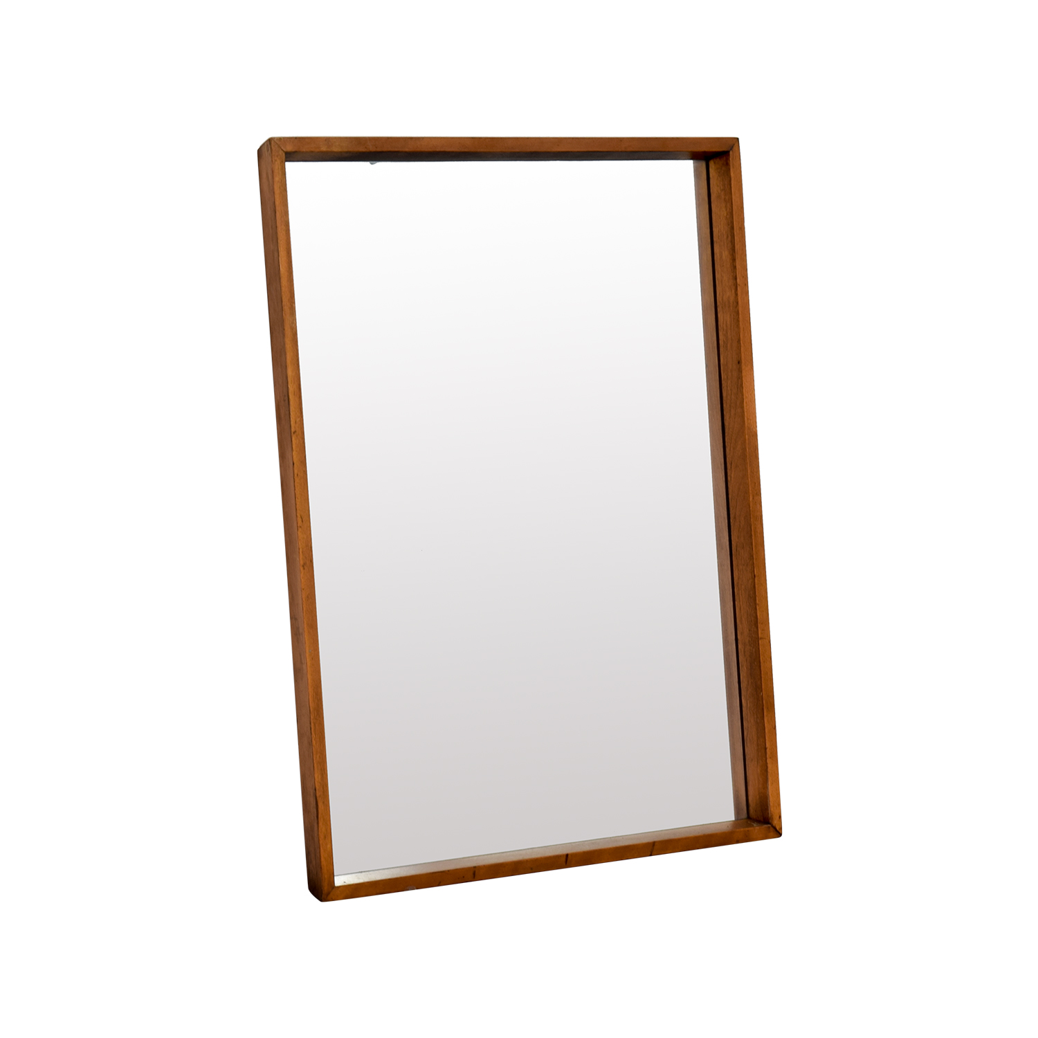 Classic Brown Rectangle Mirror second hand
