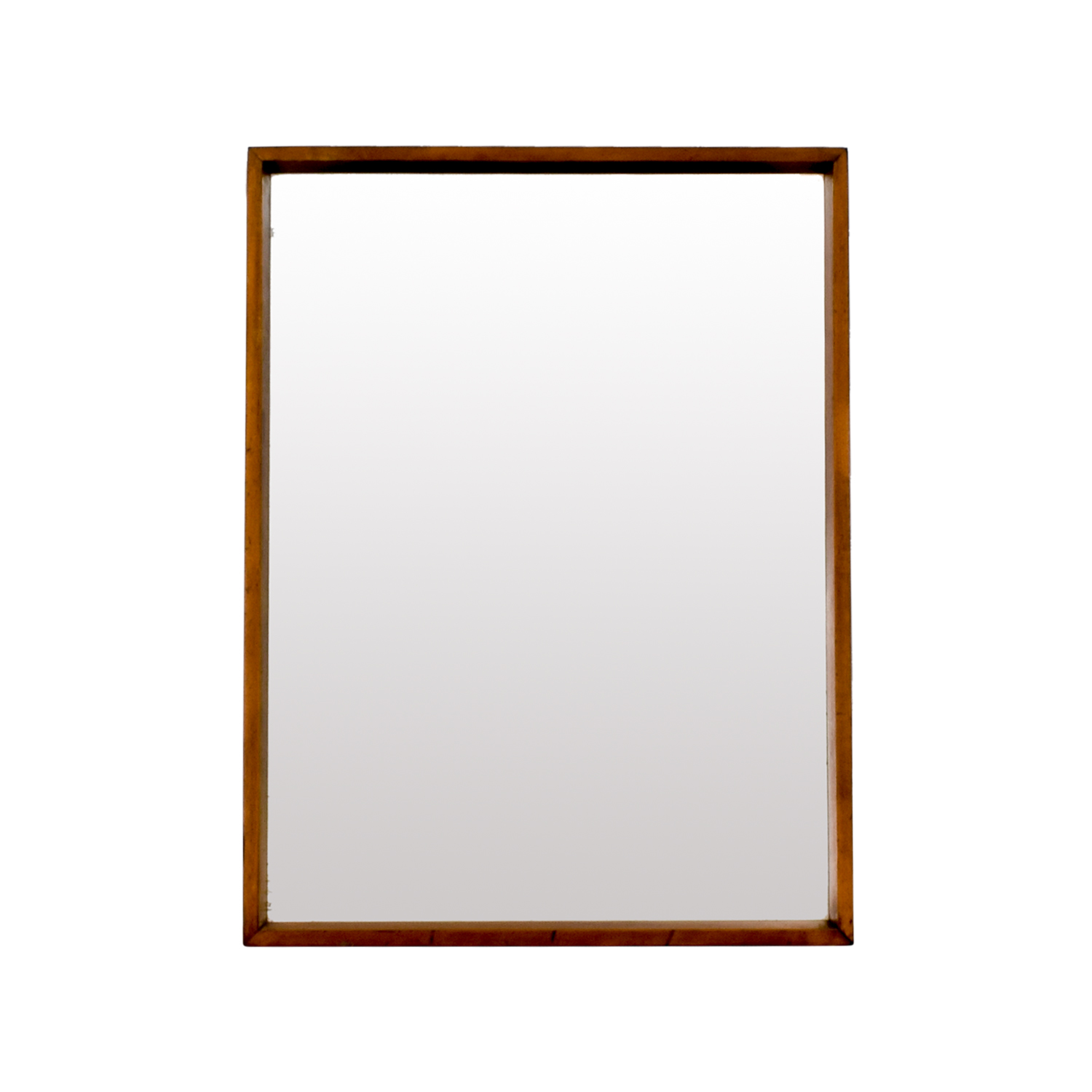 buy Classic Brown Rectangle Mirror online