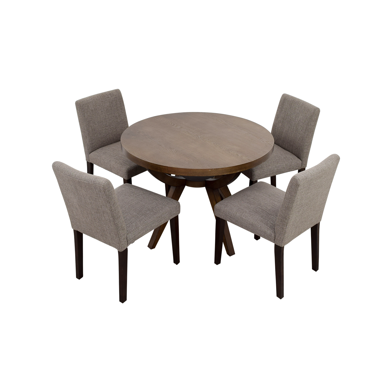 shop West Elm Arc Base Pedestal Table and Chairs West Elm Tables