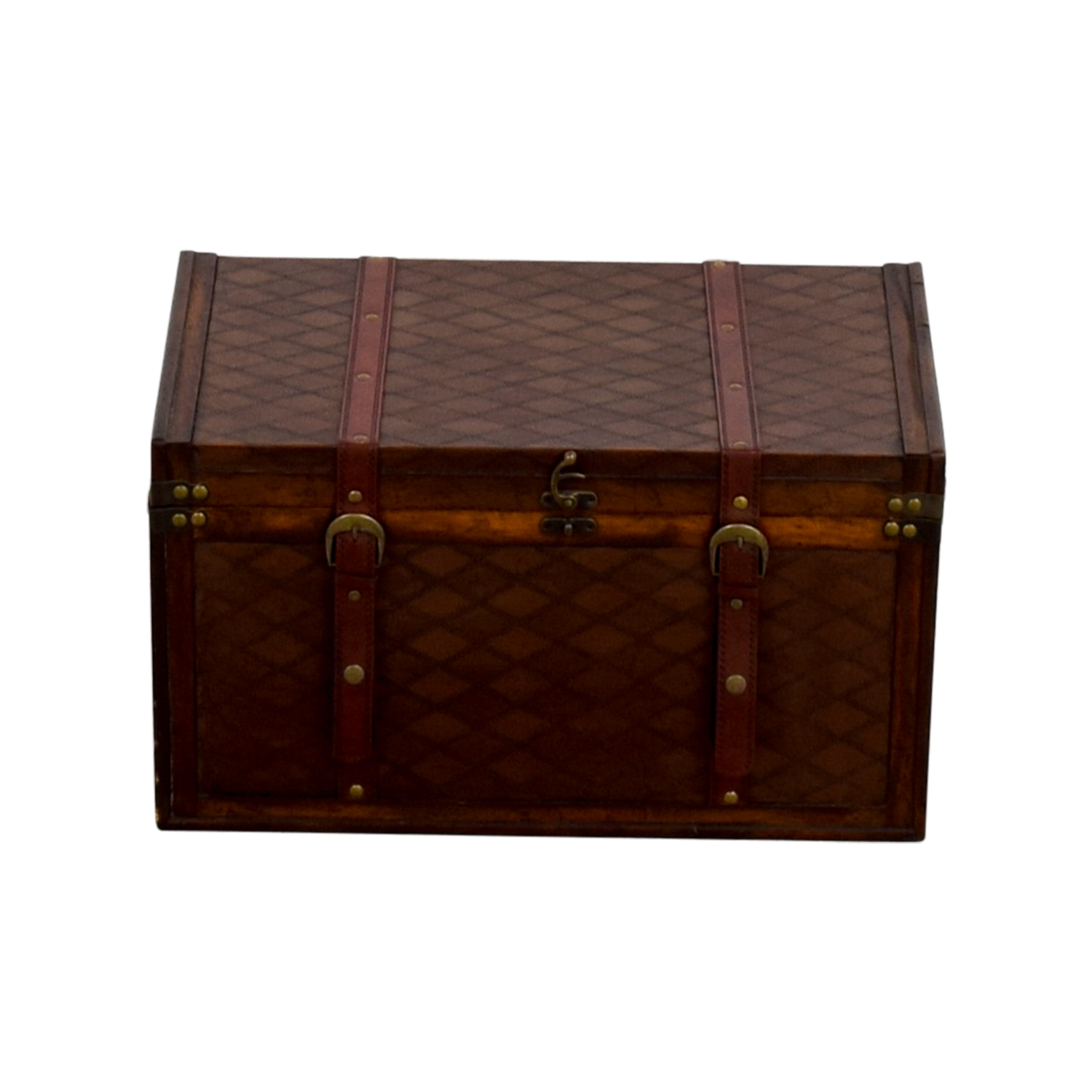 World Market World Market Small Wood Trunk dimensions