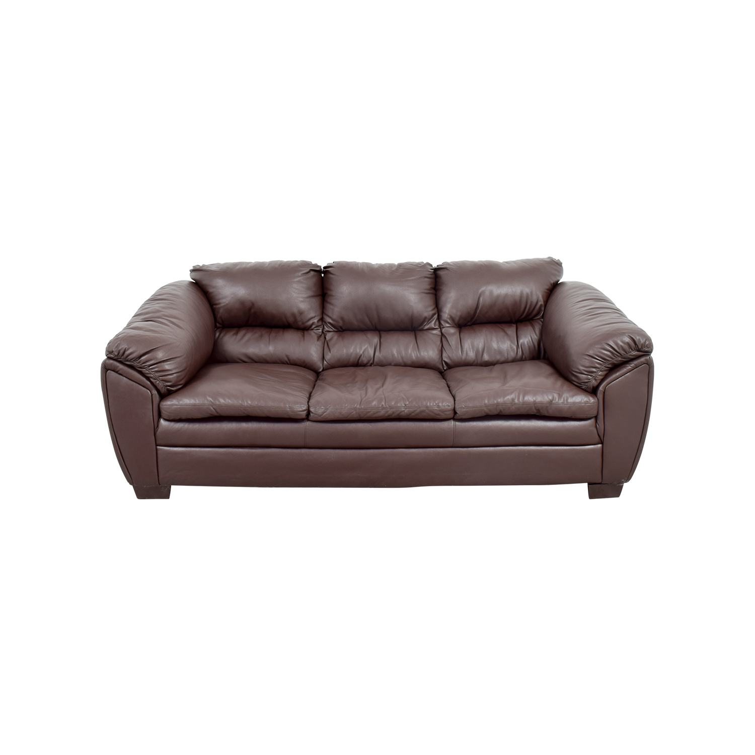Brown Leather Sofa Brown