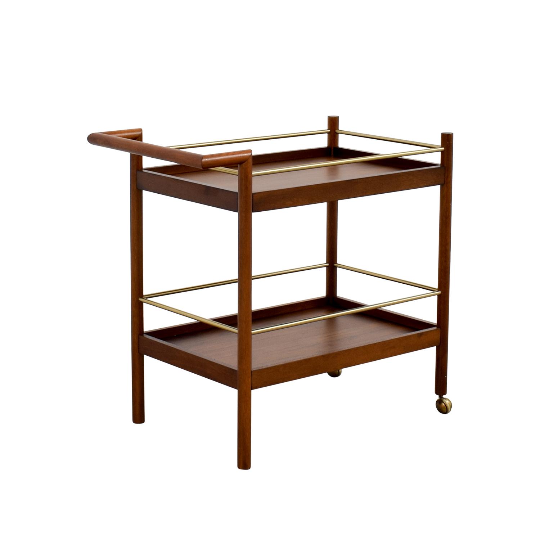 OFF West elm West elm bar cart Tables