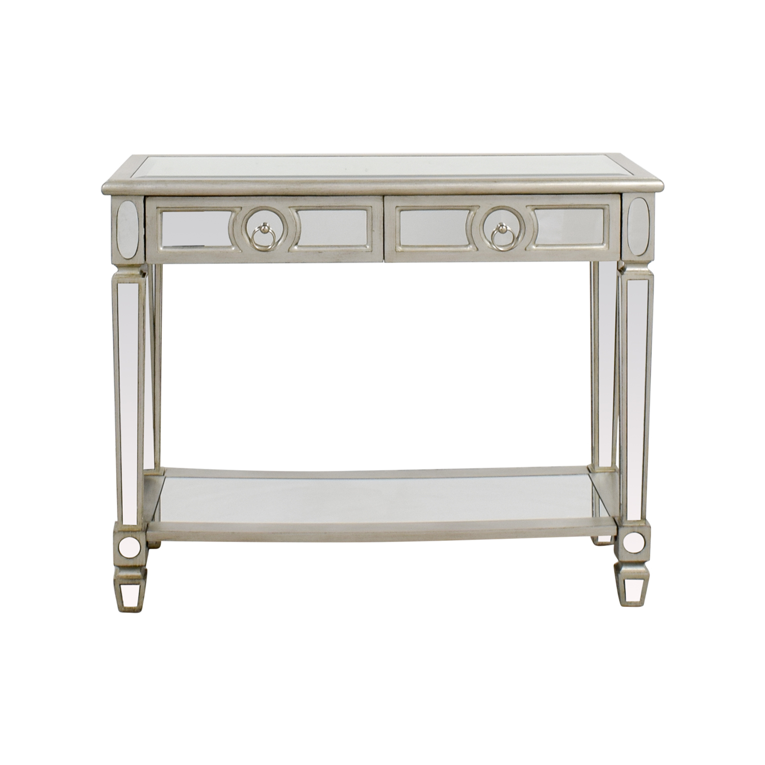 Monarch Furniture Monarch Furniture Mirrored Sofa Console Table second hand