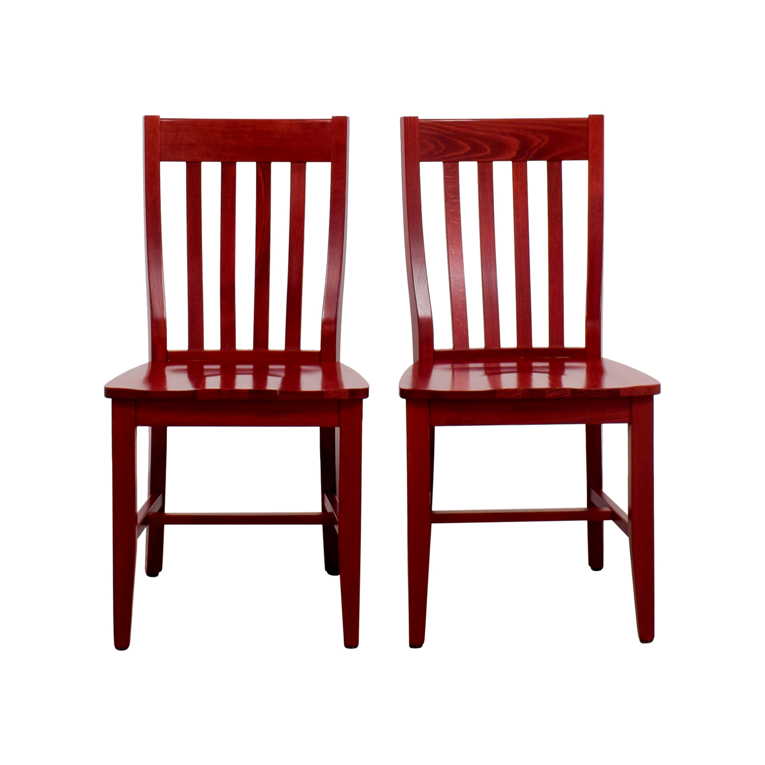 79% OFF - Pottery Barn Pottery Barn Schoolhouse Chairs / Chairs
