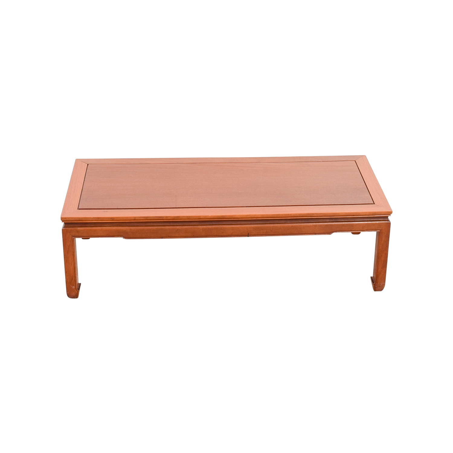 Rectangle Wood Coffee Table price
