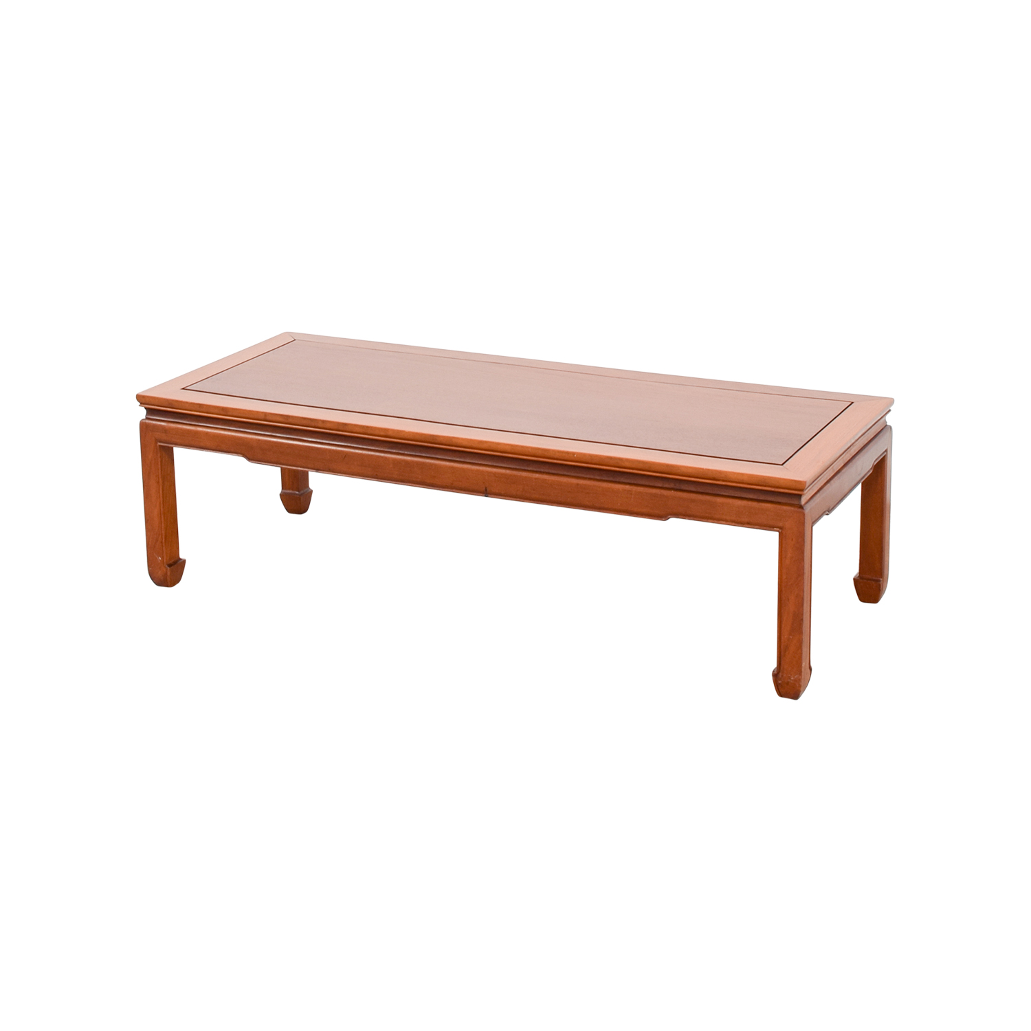 90 Off Rectangle Wood Coffee Table Tables