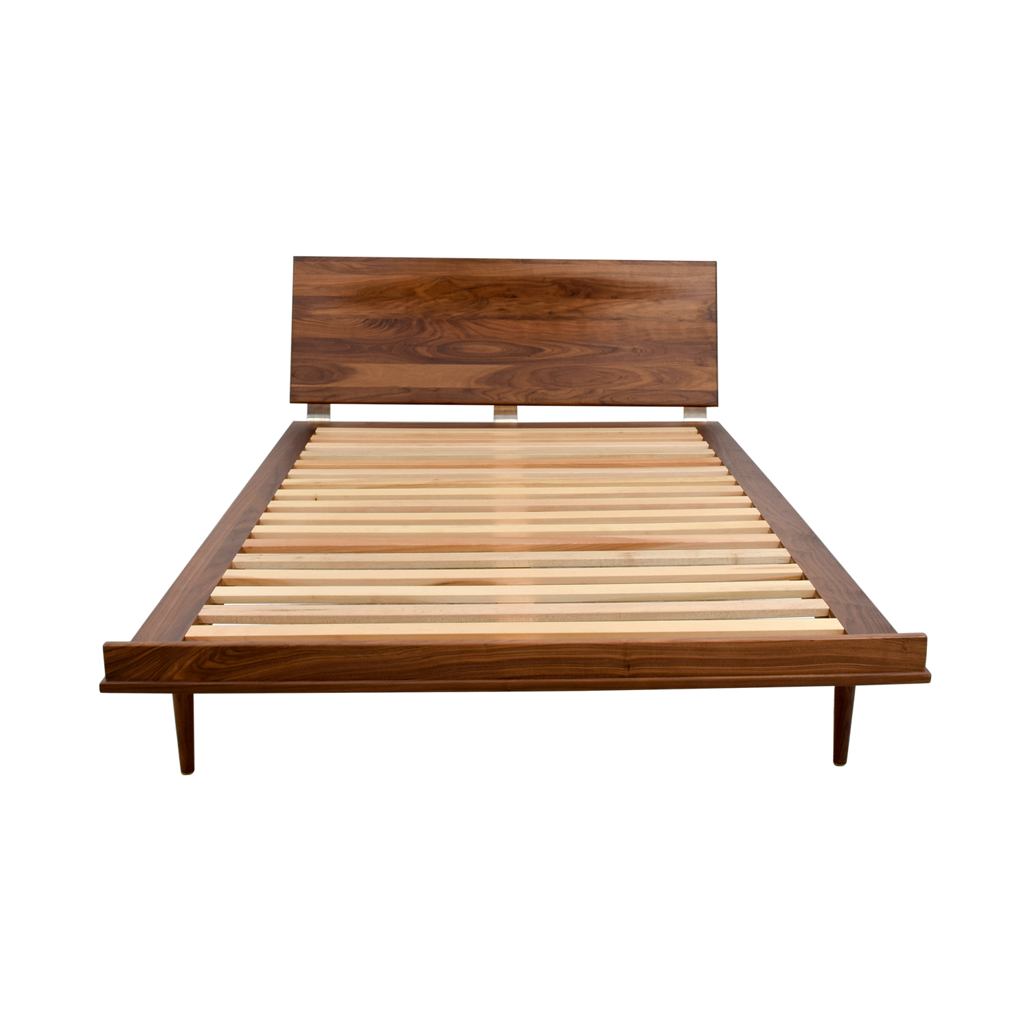Design Within Reach Design Within Reach Nelson Thin Edge Full Bed Frame Brown / Beech