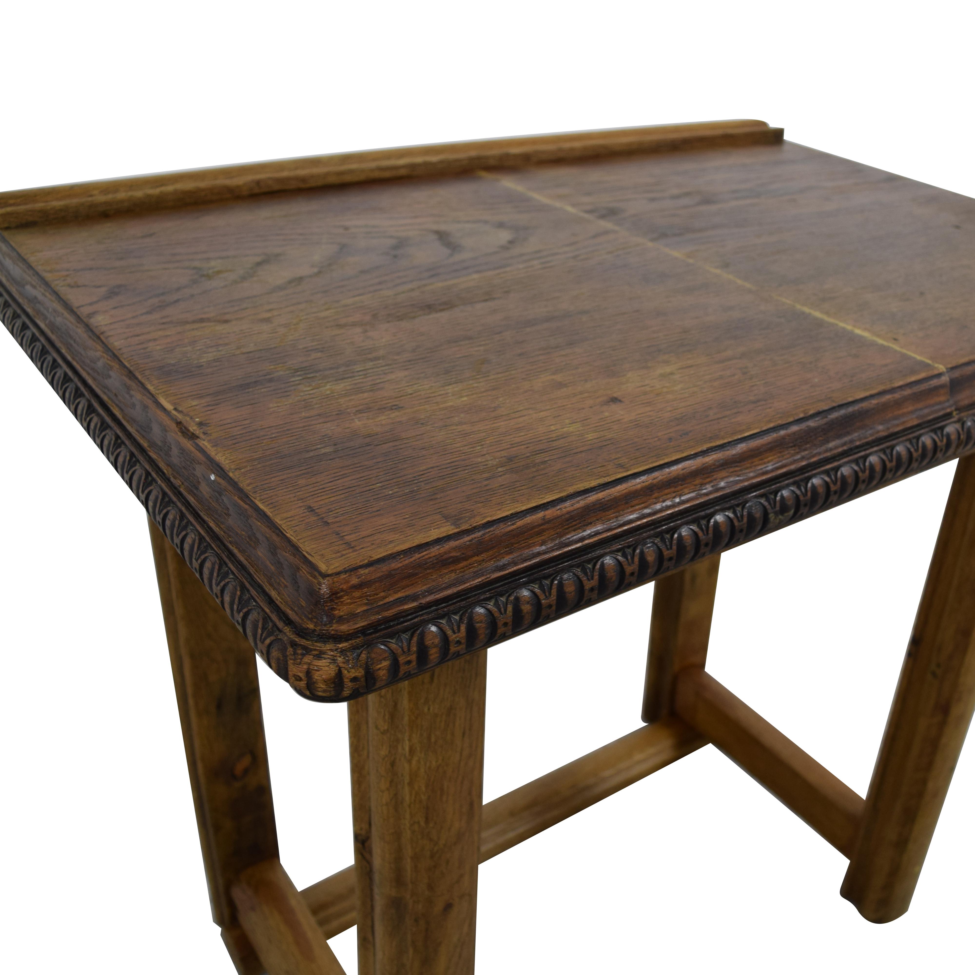 90 off antique student desk tables rh furnishare com antique student desk with ink well antique student desk collectors