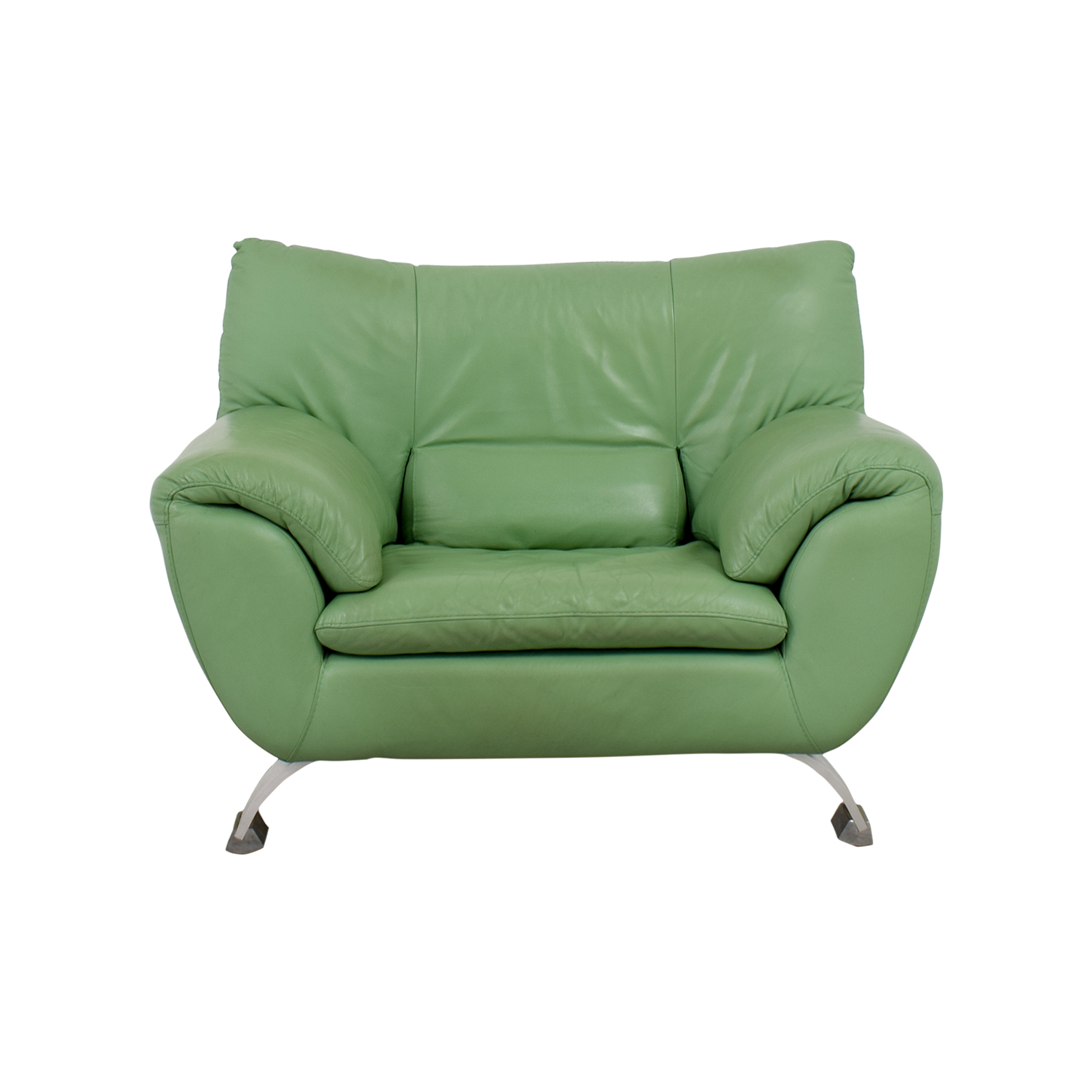 54% OFF Nicoletti Nicoletti Green Accent Chair Chairs