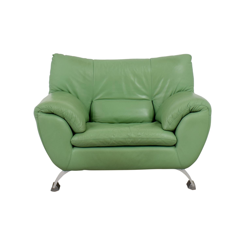 Nicoletti Nicoletti Green Accent Chair Mint