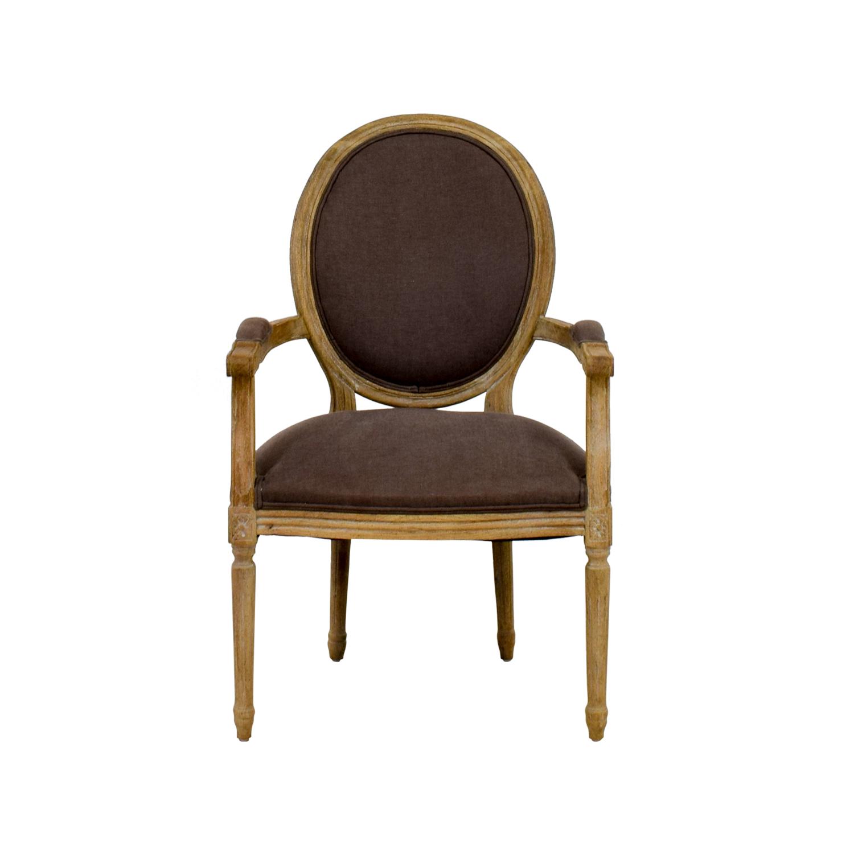 Restoration Hardware Style French Round Armchair