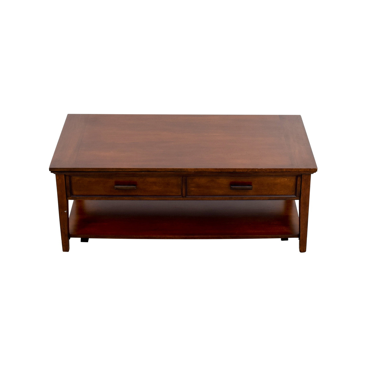 80% OFF   Wooden Hideaway Coffee Table / Tables