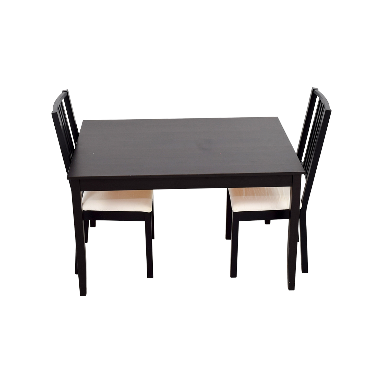 62 off ikea ikea three piece dining set tables. Black Bedroom Furniture Sets. Home Design Ideas