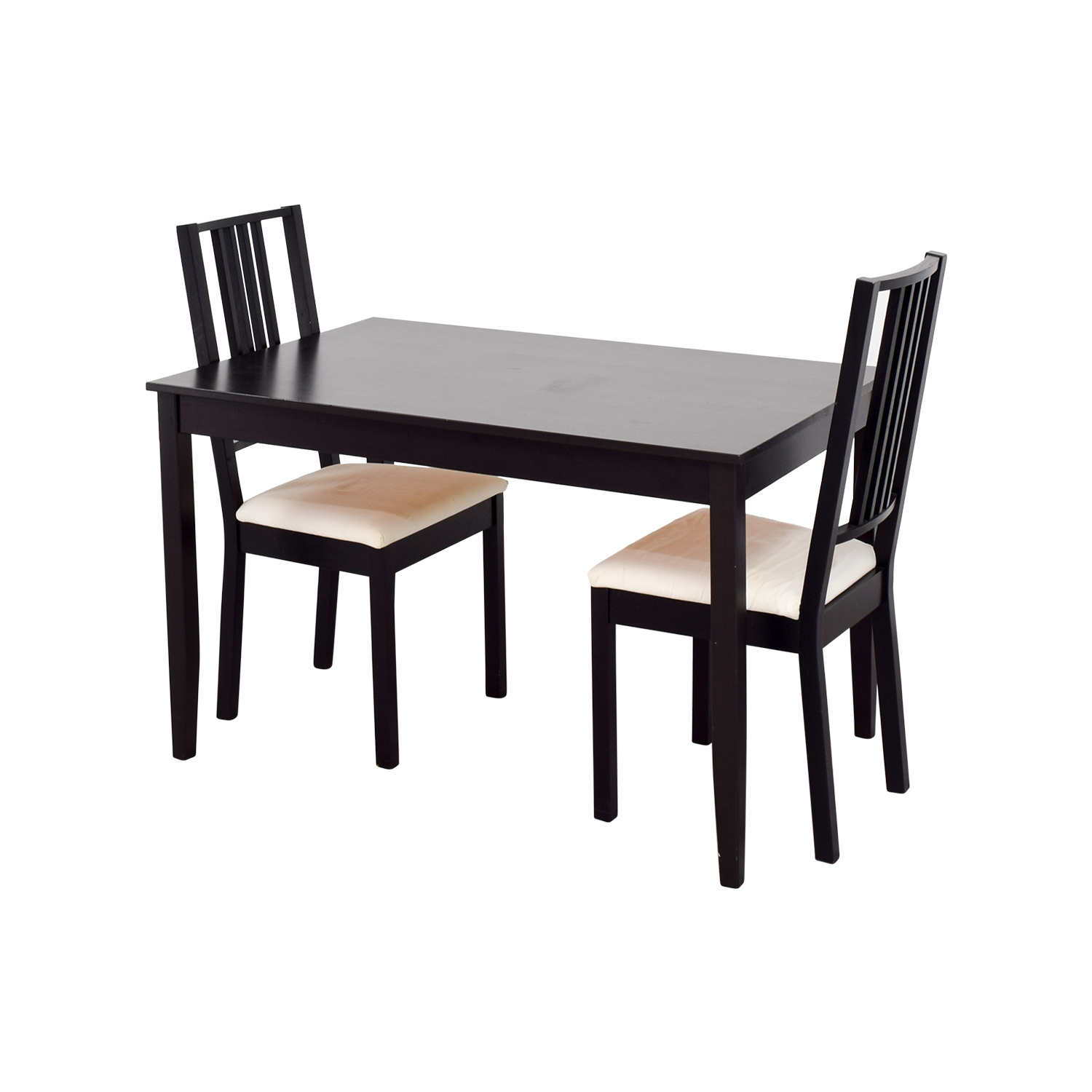 62 off ikea ikea three piece dining set tables for Ikea dining table and chairs set