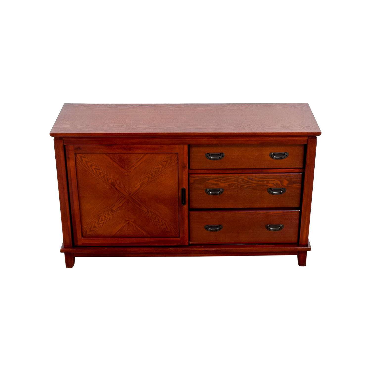 shop Bobs Furniture Mission Oak Dresser Bobs Furniture