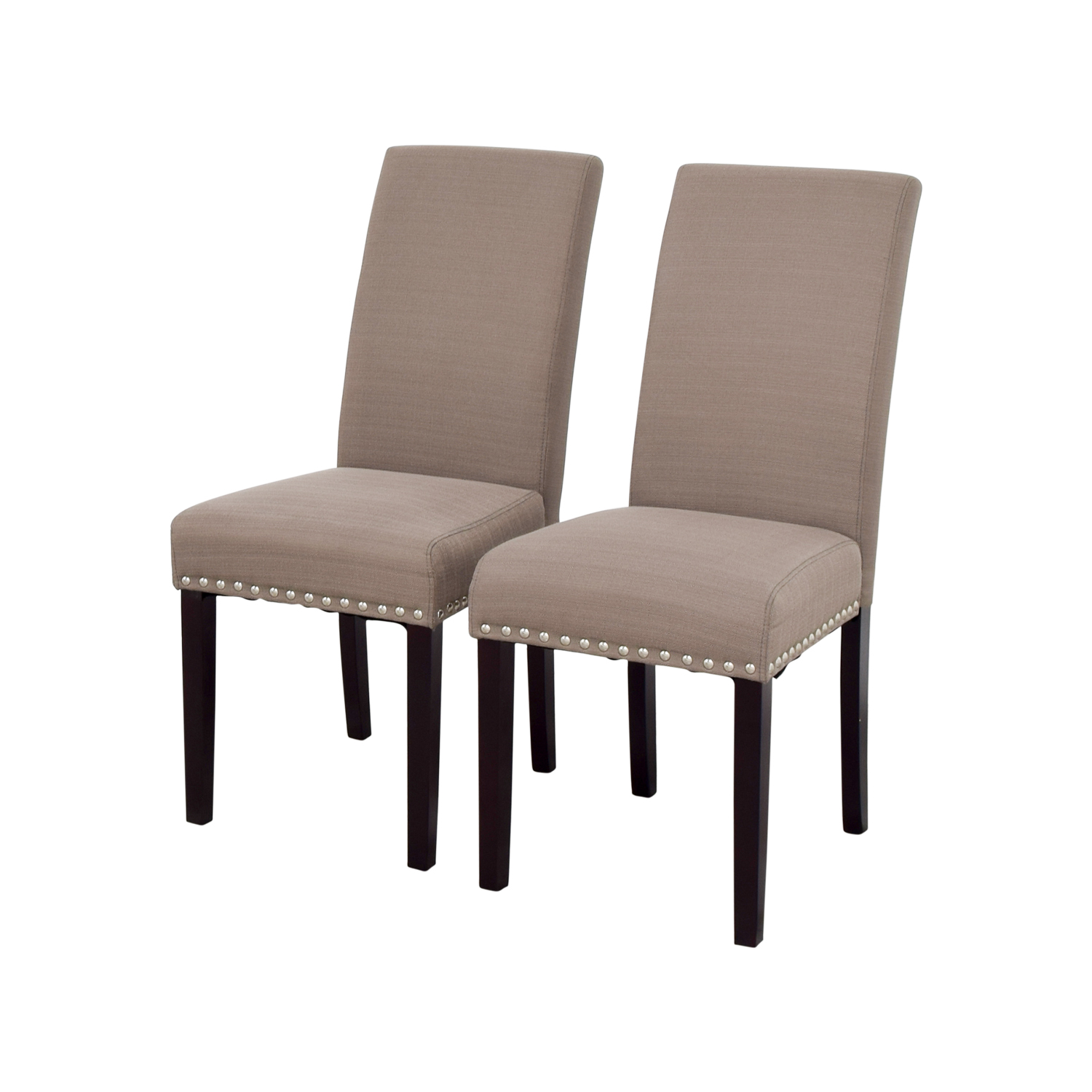 68 off modway modway madrid nail head dining chairs for Dining room head chairs