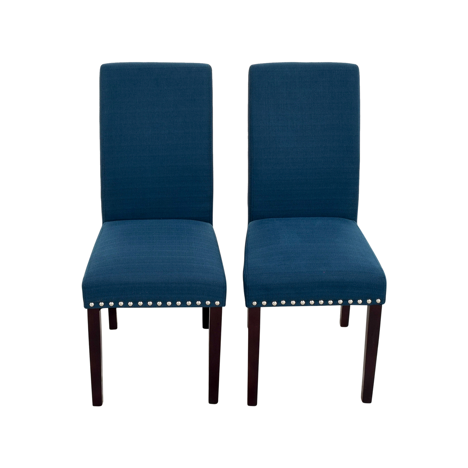 70% OFF Modway Modway Madrid Nail Head Teal Dining Chairs Chairs