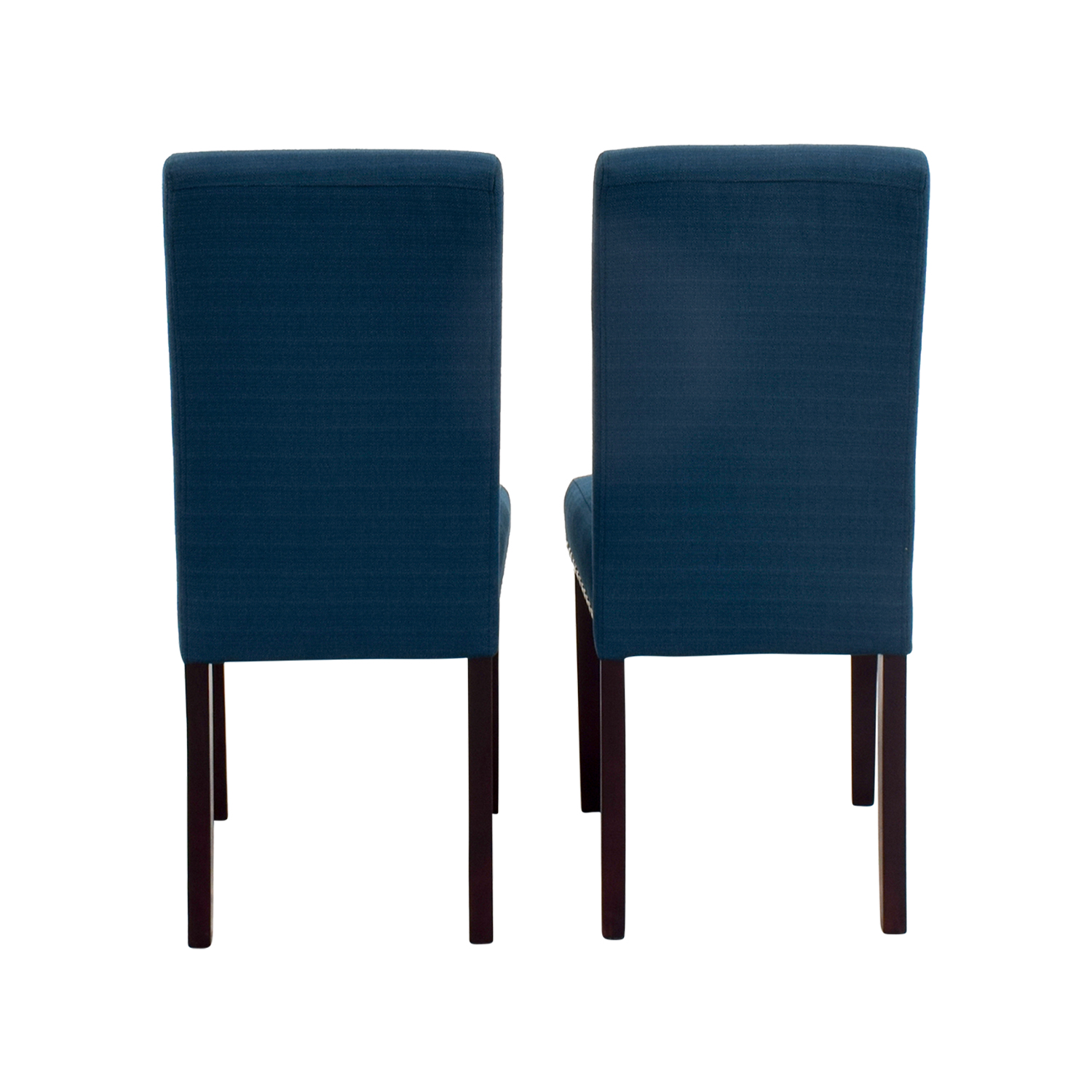 Modway Madrid Nail Head Teal Dining Chairs / Dining Chairs