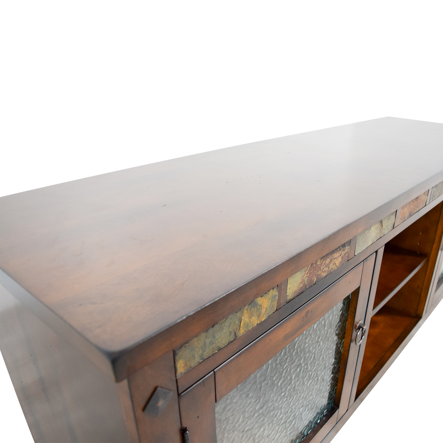 new concept 27736 2be70 75% OFF - Bob's Discount Furniture Bob's Furniture Santa Fe Console /  Storage