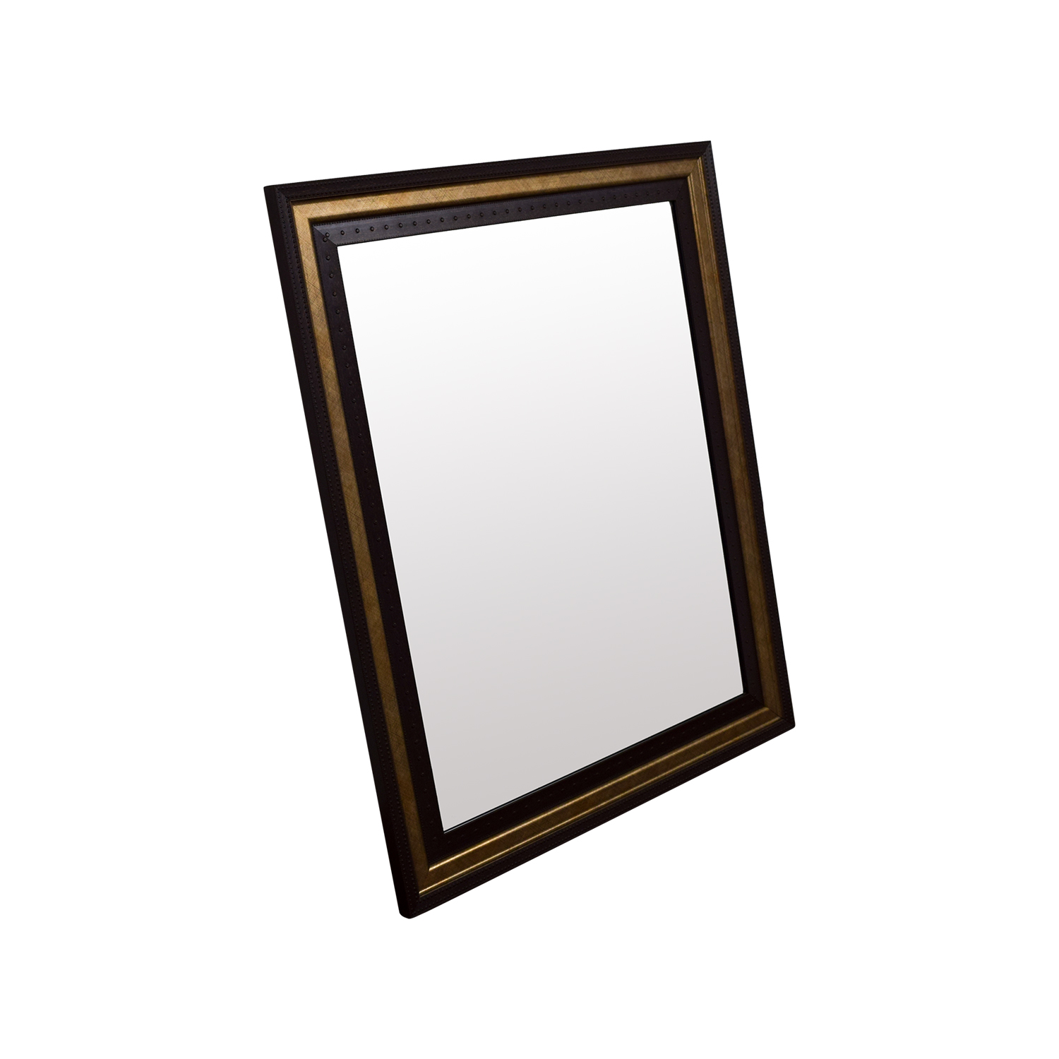 71 off mirror with gold and wood frame decor