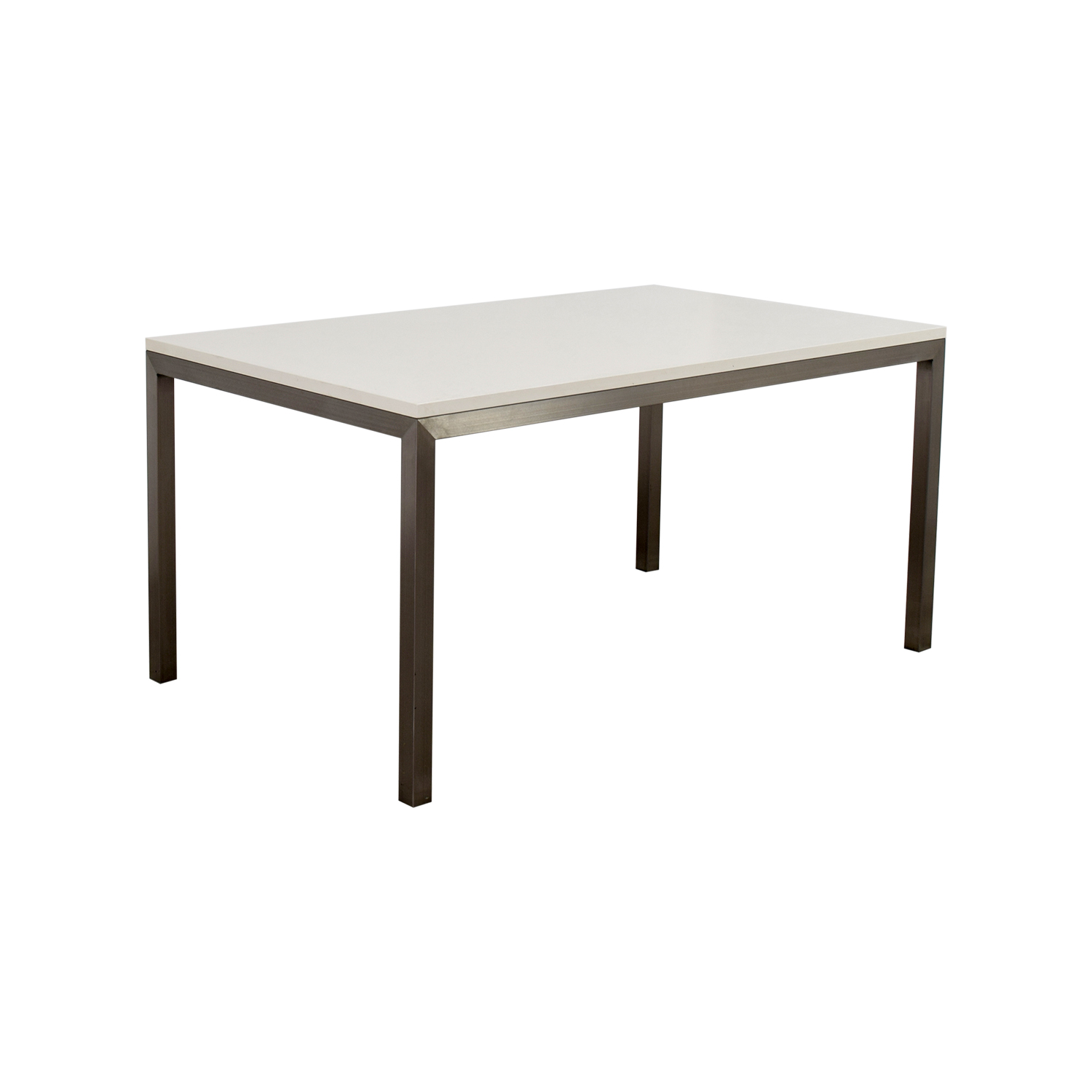 79 off crate barrel crate barrel parsons dining table tables - Crate and barrel parsons chair ...