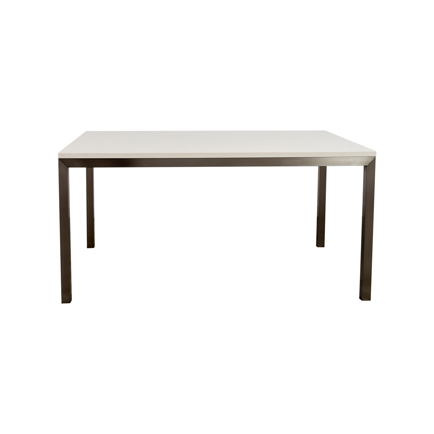 Crate & Barrel Parsons Dining Table sale