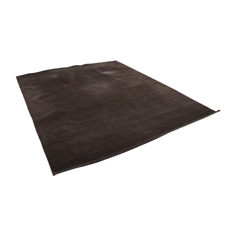 Dark Brown Rug price