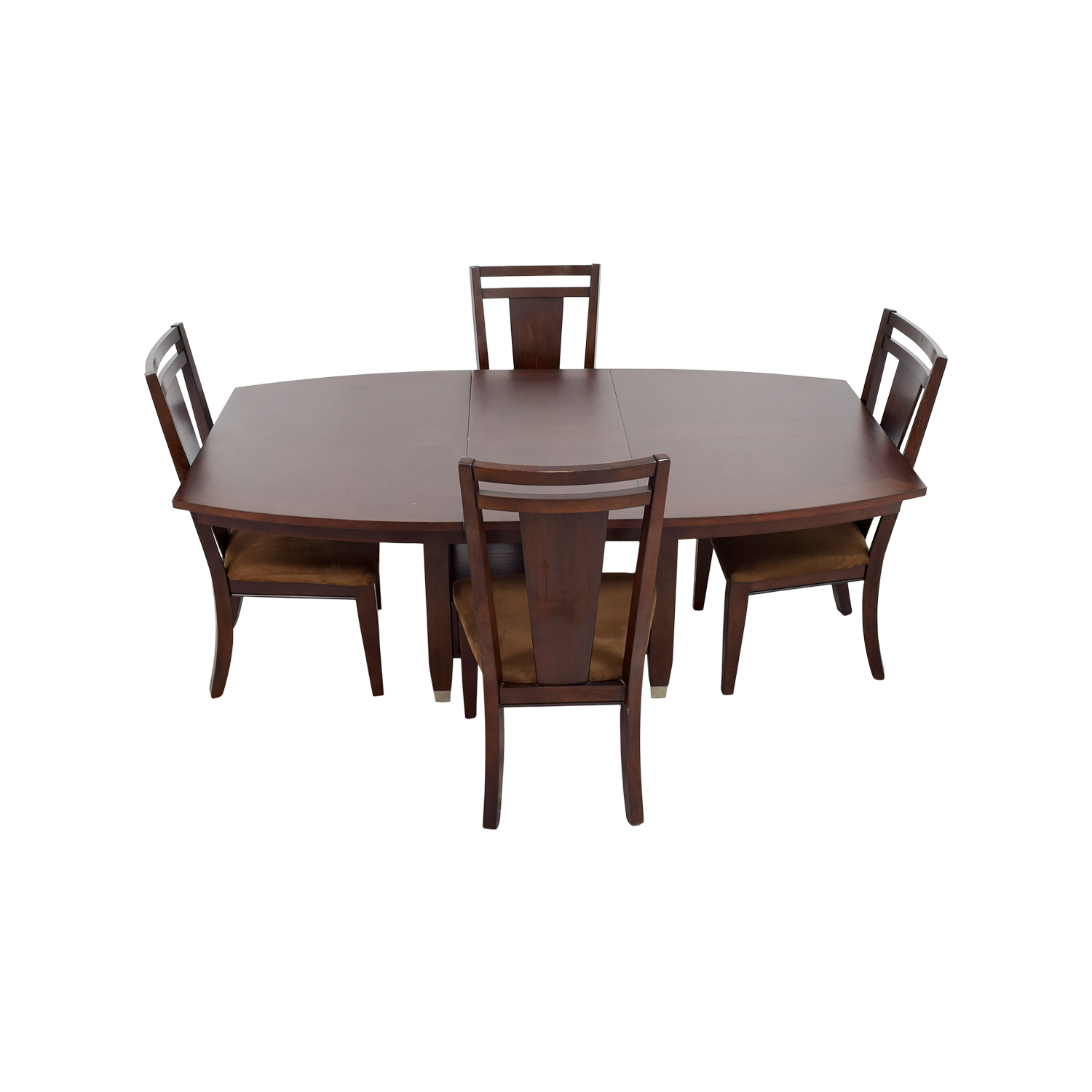 100 wood dining room tables and chairs mainstays 5 for Best dining table set