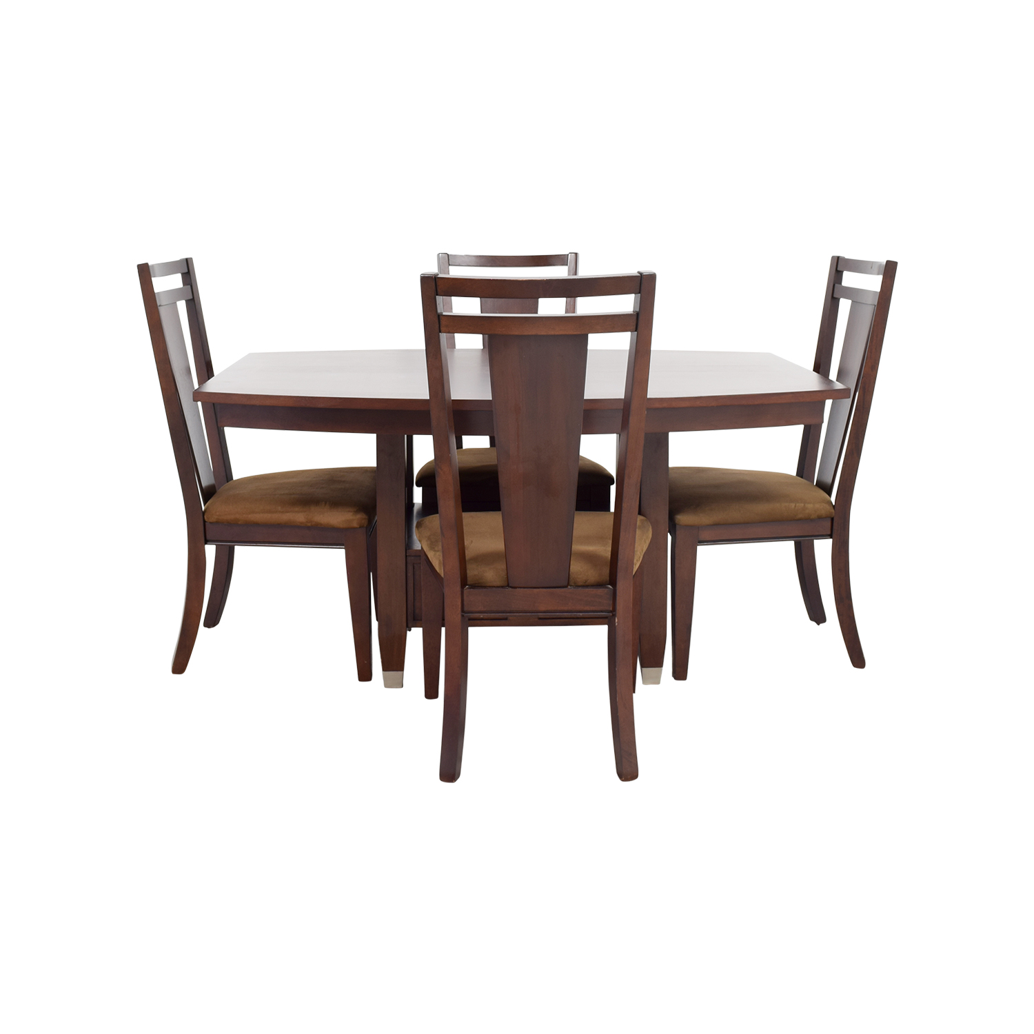 78 off broyhill broyhill wood dining table set tables for Dinner table wood