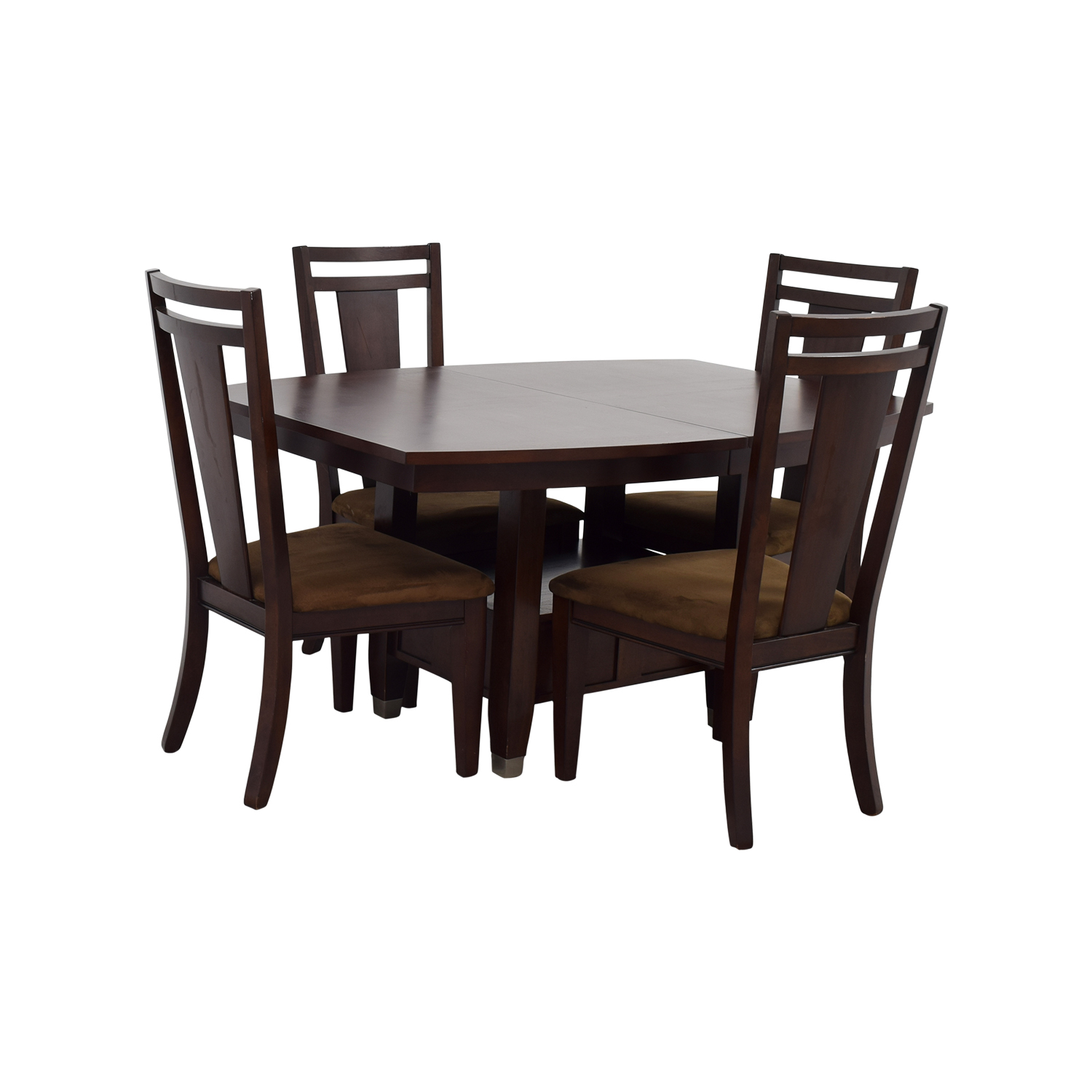 78 off broyhill broyhill wood dining table set tables. Black Bedroom Furniture Sets. Home Design Ideas