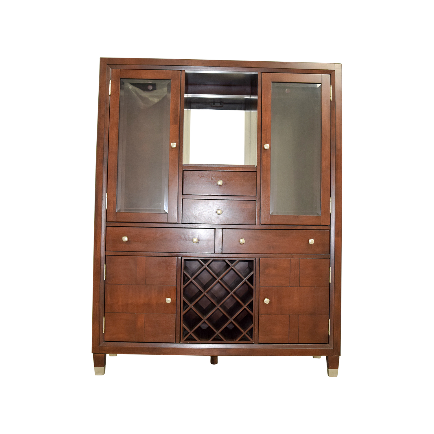 Broyhill Broyhill Curio China Cabinet dark wood