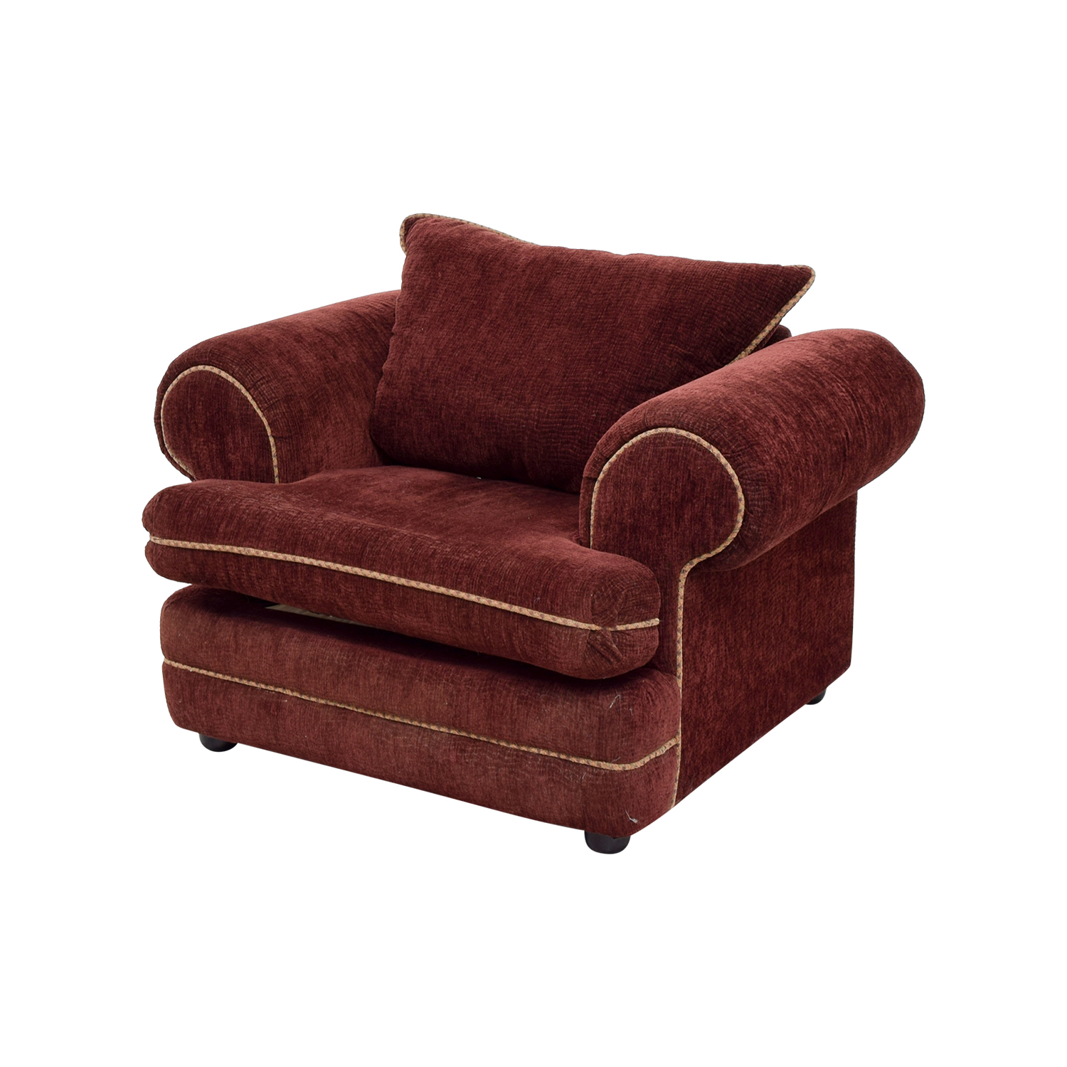 Sealy Sealy Burgundy Accent Chair / Chairs