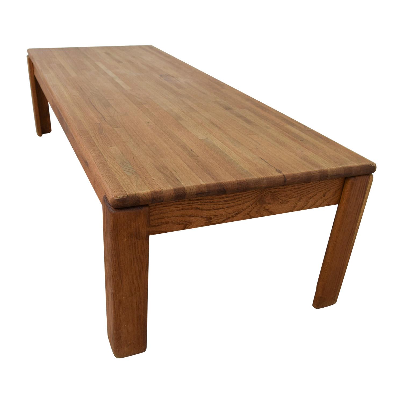 California Oak Coffee Table Tables