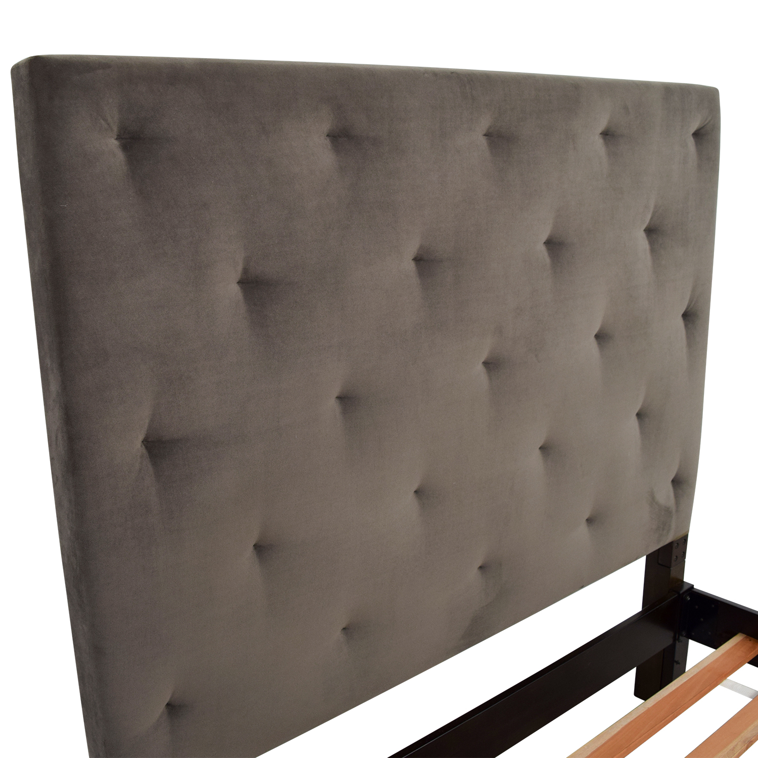 buy West Elm Diamond Tufted Headboard and Frame West Elm