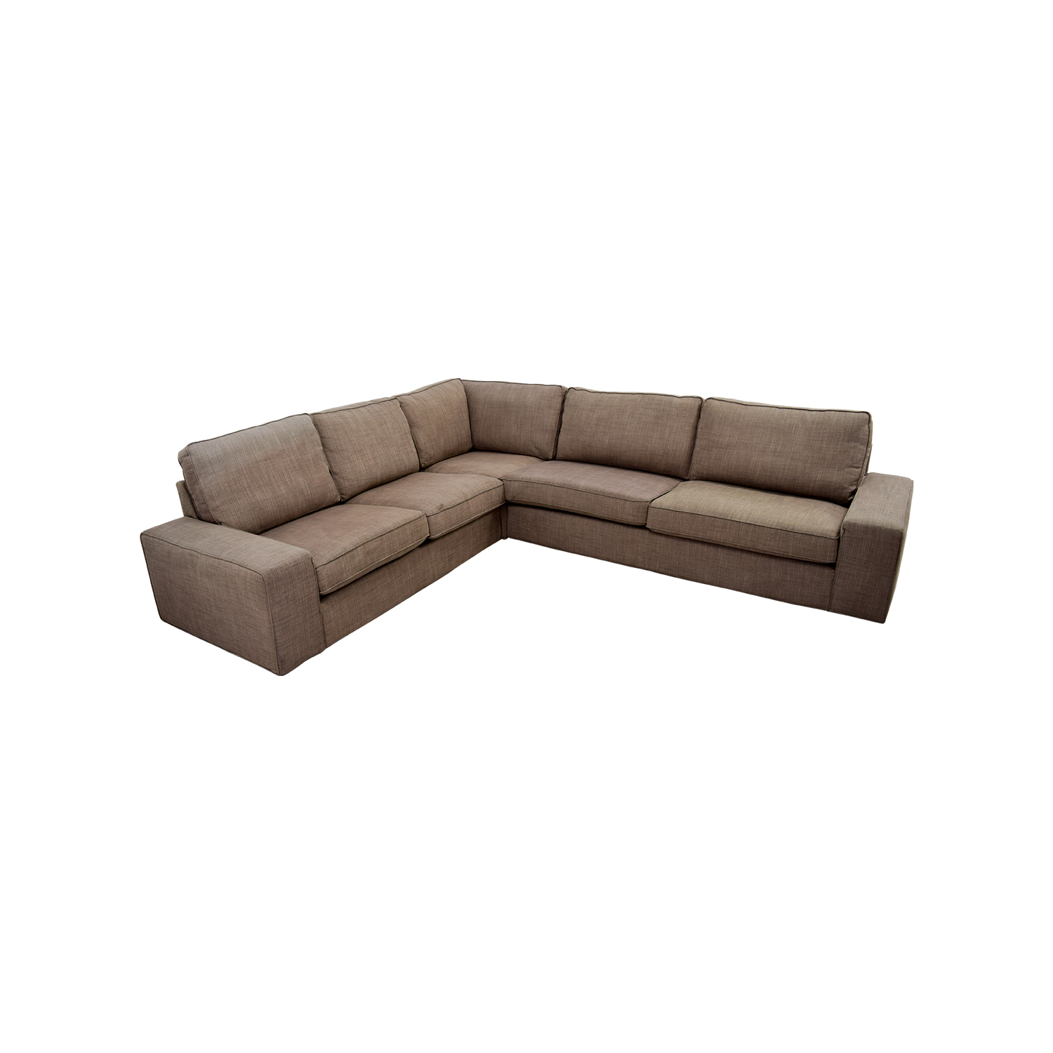 IKEA IKEA KIVIK Brown Sectional Sectionals