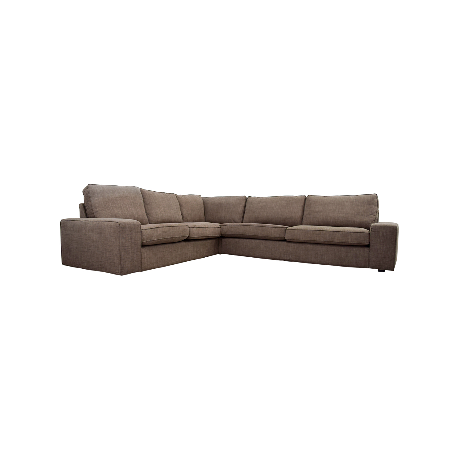 buy IKEA KIVIK Brown Sectional IKEA