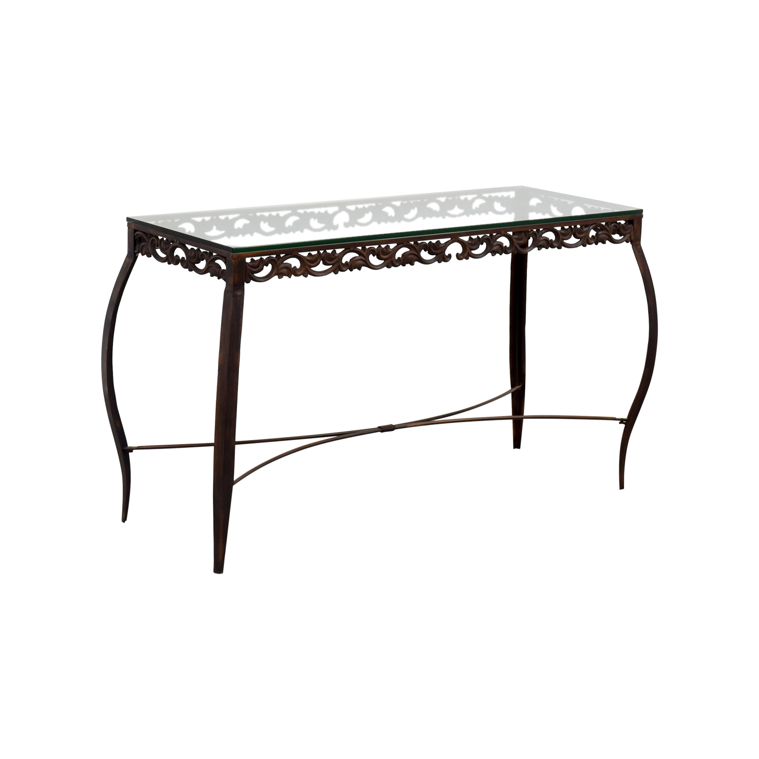 90 off pier 1 imports pier 1 imports glass console for Sofa table pier one