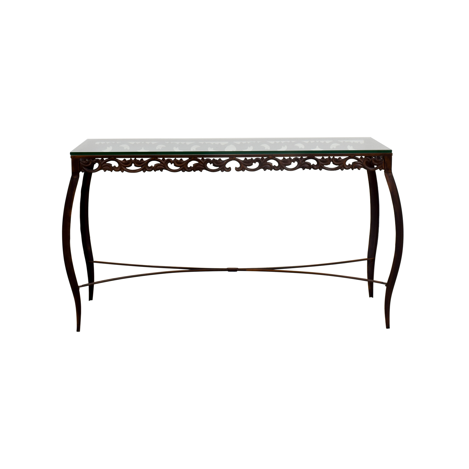 Pier 1 Imports Glass Console Table sale