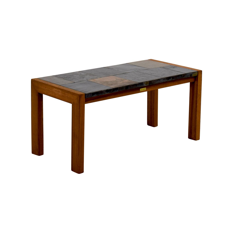 Slate Outdoor Coffee Table