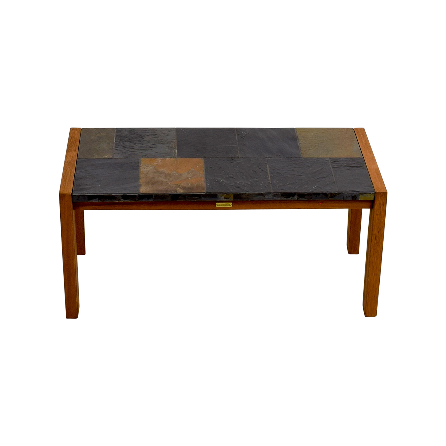 Outdoor Interiors Outdoor Interiors Slate Mosaic Coffee Table nyc