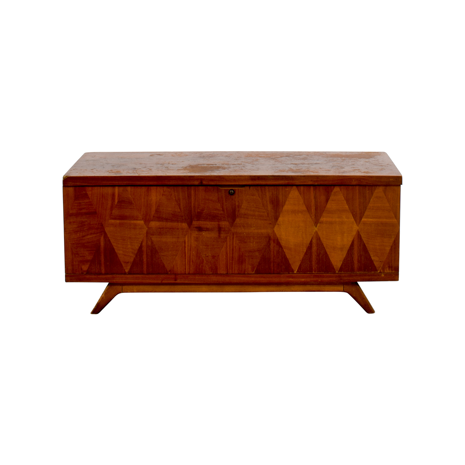Lane Furniture Wooden Trunk Coffee Table Storage Unit sale