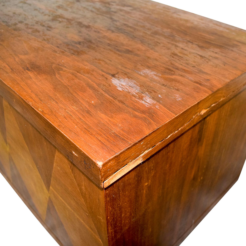 Used Lane Coffee Table: Lane Furniture Lane Furniture Wooden Trunk
