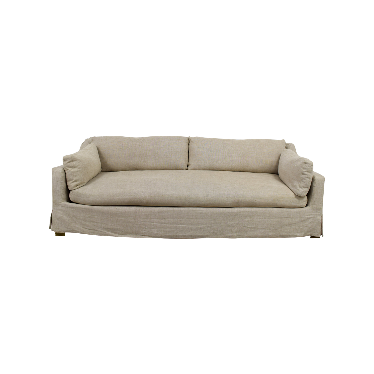 buy Restoration Hardware Classic Belgian Beige Sofa Restoration Hardware