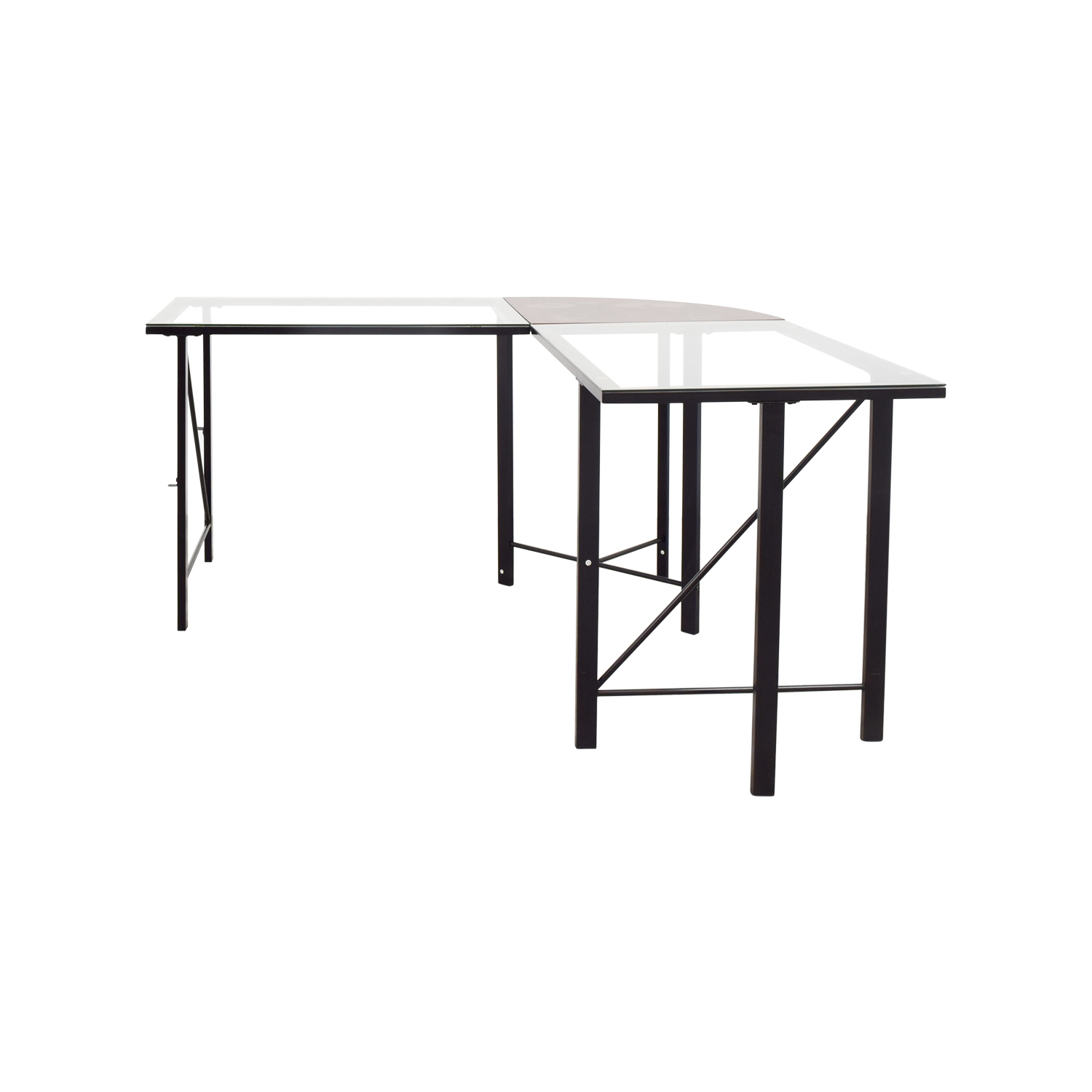 Altra Furniture Altra Furniture Aden Corner Glass Computer Desk price