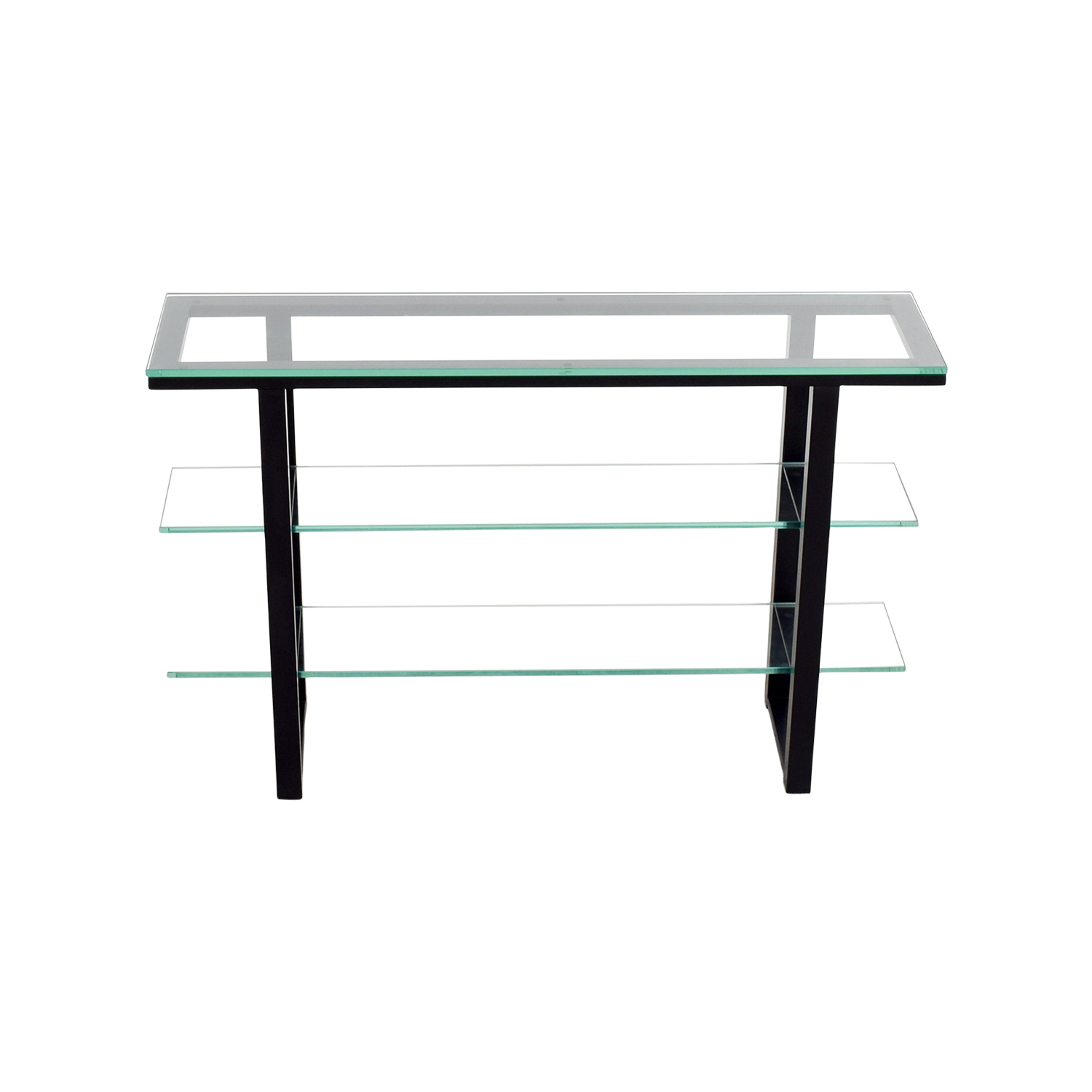Glass Console Table on sale