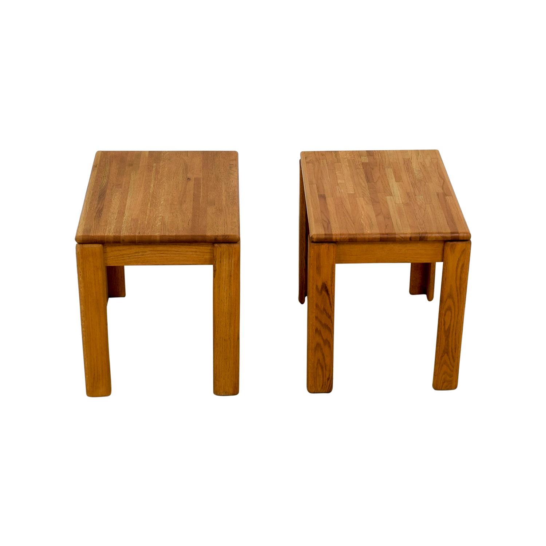 shop Butcher Block End Tables End Tables