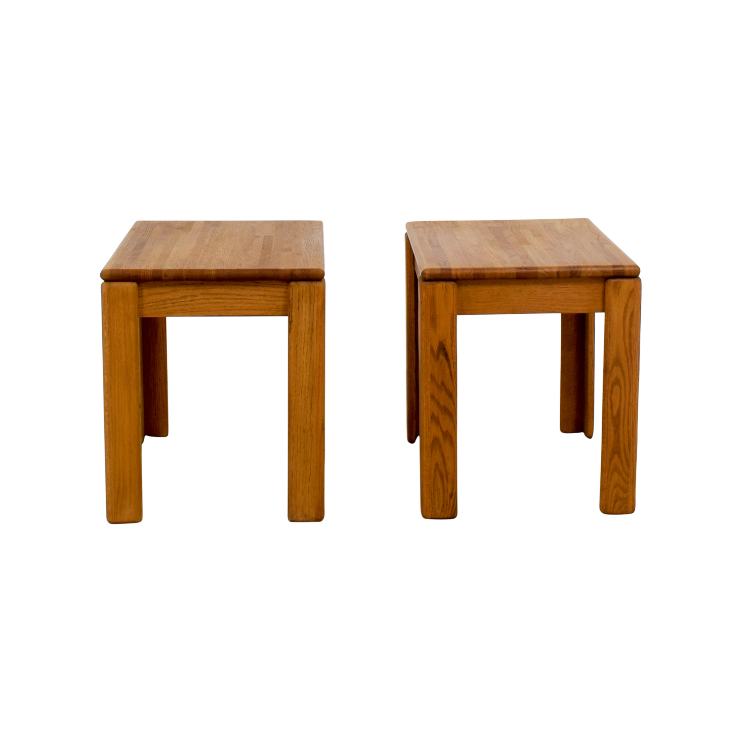 Butcher Block End Tables price
