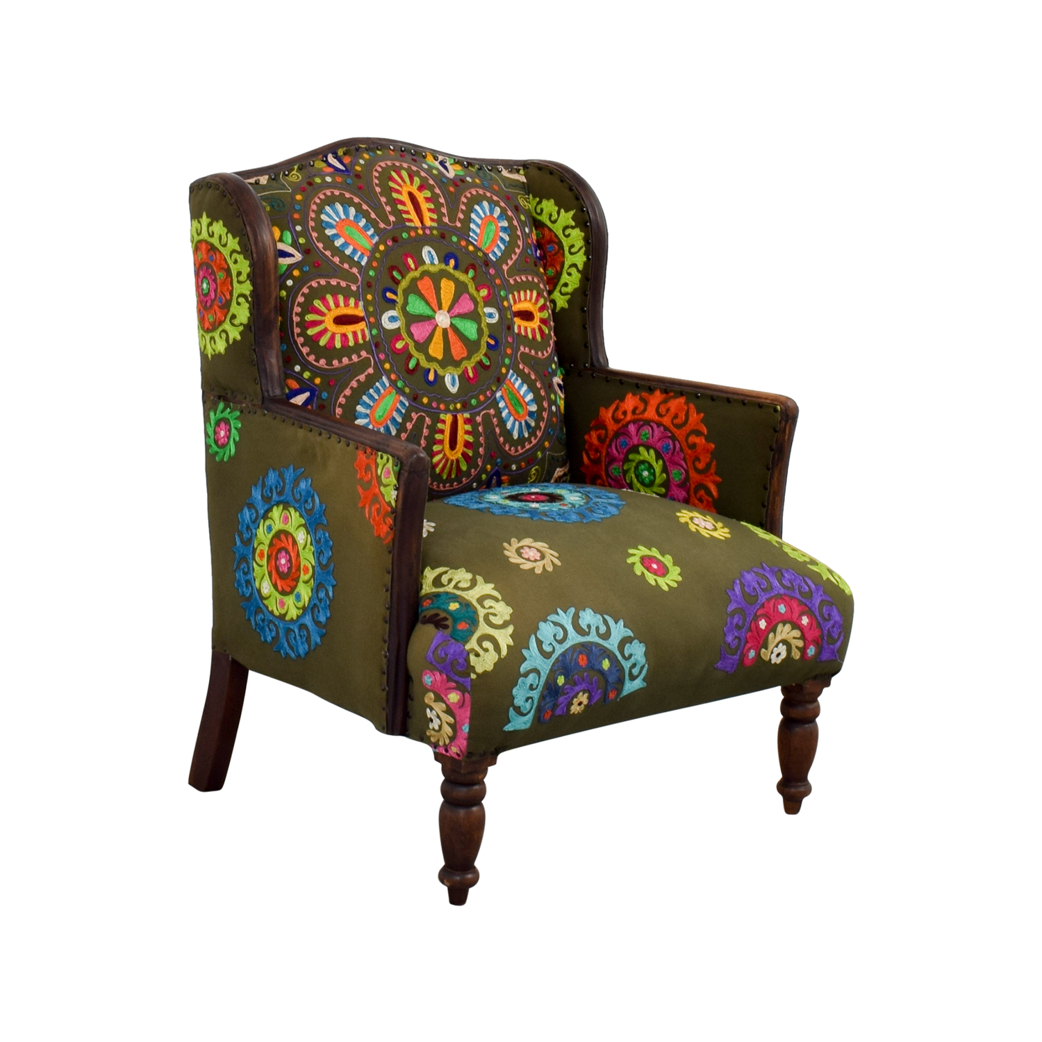 88 off melange home melange home accent chair chairs - Essential accent furniture for your home ...