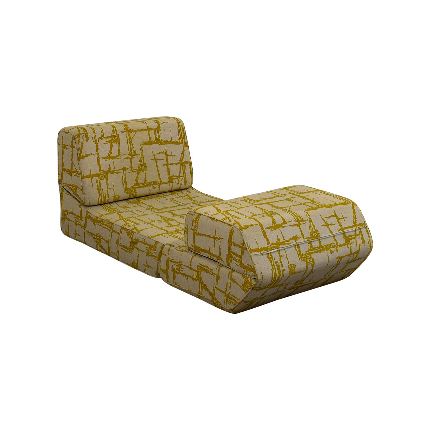 OFF Yellow Print Foldout Chair Chairs